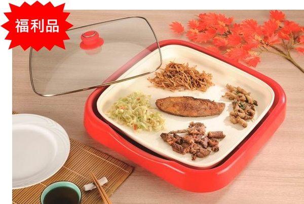 (福利品)【歌林】陶瓷鐵板燒機/烤肉KHL-LNG02 保固免運-隆美家電