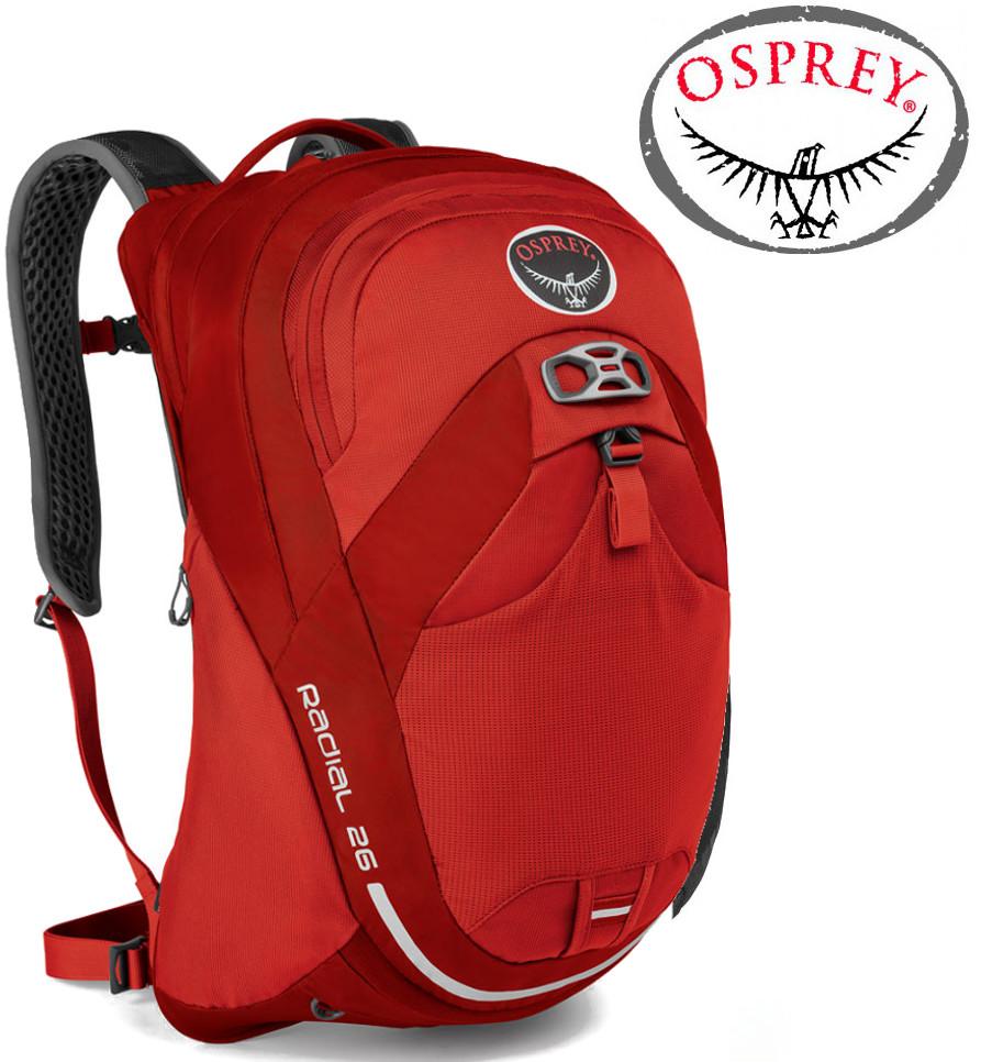 Osprey Radial 26 日用系列後背包/電腦包 登山背包/健行背包 紅/台北山水