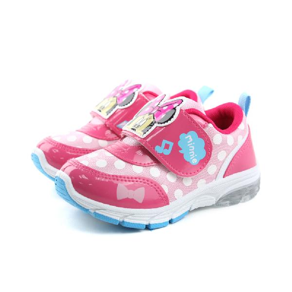 Disney 迪士尼 米妮 運動鞋 童鞋 粉色 中童 no889