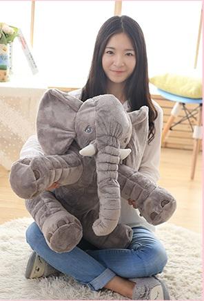 *馬汀生活館*可愛大象公仔抱枕 靠墊 抱枕 可含冷氣毯 法蘭絨 寒冬 聖誕交換禮物