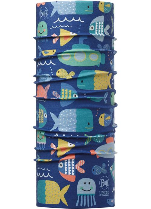 Buff 高防曬CoolMax抗UV魔術頭巾 High UV BUFF 兒童款 111486-707 大海家族