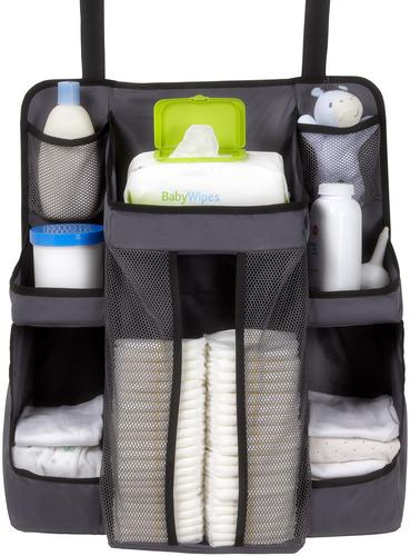 美國【DexBaby】Nursery Organizer 尿布收納袋(灰色)