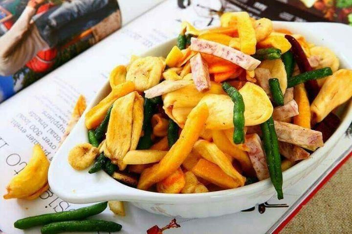 脆樂養生烘焙蔬果乾-綜合蔬果 (每包約300g)