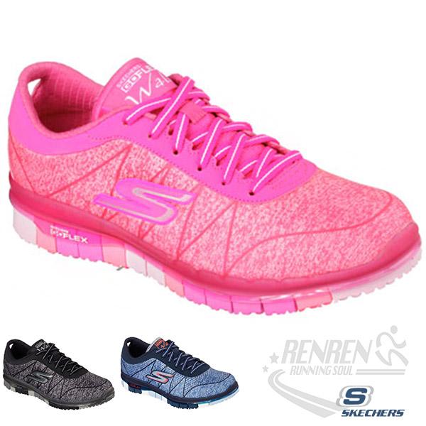 SKECHERS 女健走系列 (粉) GO FLEX WALK  瑜珈鞋墊 超舒適 2015最新款式