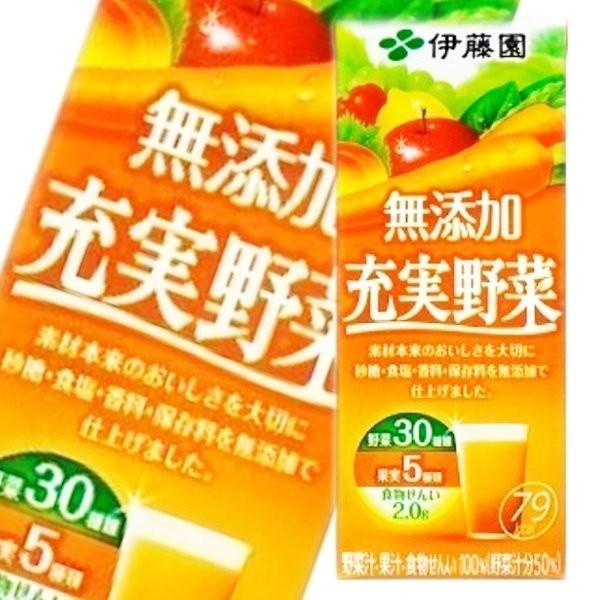 伊藤園充實野菜汁-蘋果紅蘿蔔 200ml