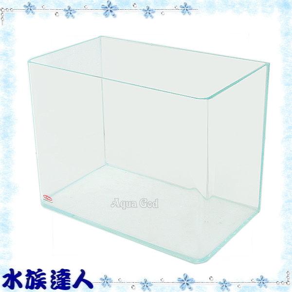 【水族達人】水族先生Mr.Aqua《2501-01小彎角ㄇ型超白缸.60*30*36cm》直角ㄇ型優白魚缸