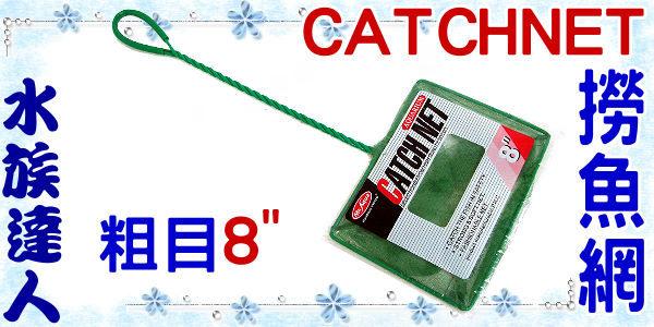 【水族達人】水族先生Mr.Aqua《CATCHNET 撈魚網(粗目)8吋》養魚必備品!