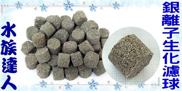 【水族達人】㊣洋達行《世界NO.1銀離子生化濾球.1kg散裝》比陶瓷環強20倍