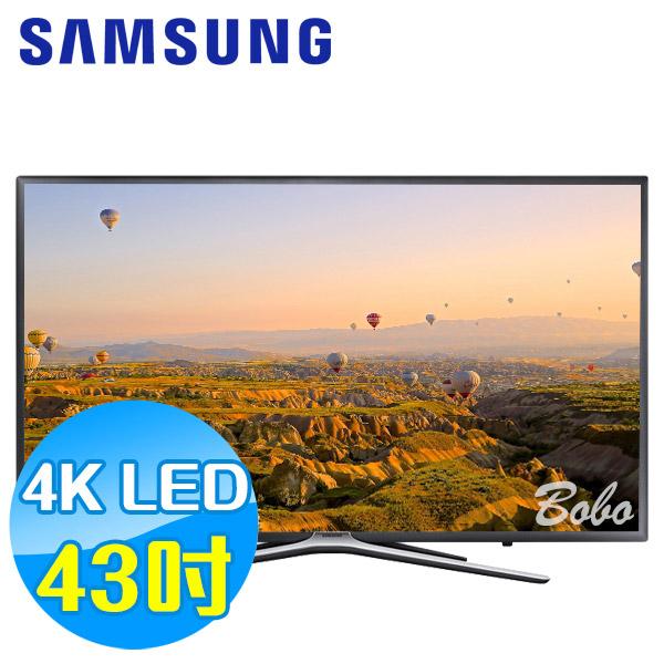 SAMSUNG三星 43吋 FHD 平面液晶電視 UA43K5500AWXZW 內建 Wi-Fi 無線網卡