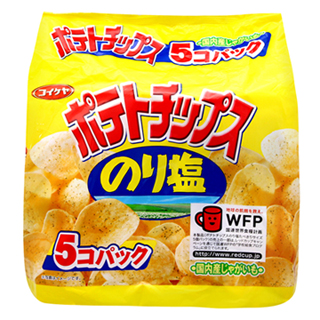 湖池屋海苔鹽味洋芋片(150g)