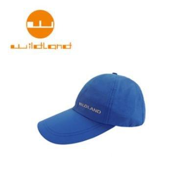 [ WILDLAND 荒野 ] 中性抗UV透氣棒球帽 / 地中海藍 / W1013-45-F
