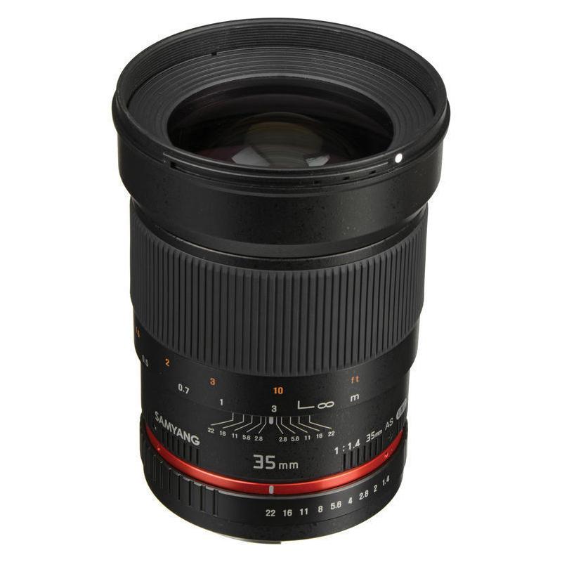 ◎相機專家◎ SAMYANG 35mm F1.4 AE for Nikon 廣角鏡 手動鏡 正成公司貨