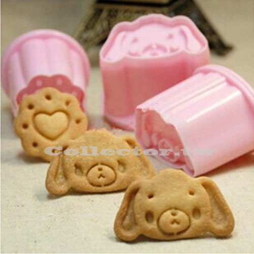 【N14102201】加菲狗立體餅乾模 卡通小狗烘焙模具 Diy餅乾模