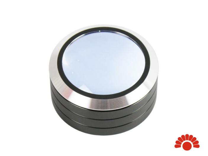 【銀元氣屋】LED文鎮放大鏡