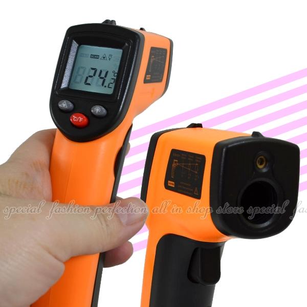 紅外線測溫器GM320溫度計 溫度槍 數位測溫器 油溫水溫冷氣 電子溫度計【DF324】◎123便利屋◎