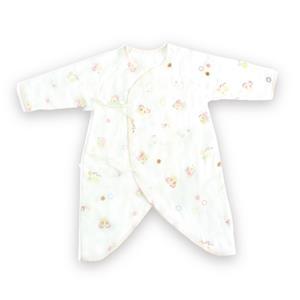 【蜜妮寶貝嬰童用品館】滿版紗布蝴蝶衣( 60cm ) / 藍色、粉紅