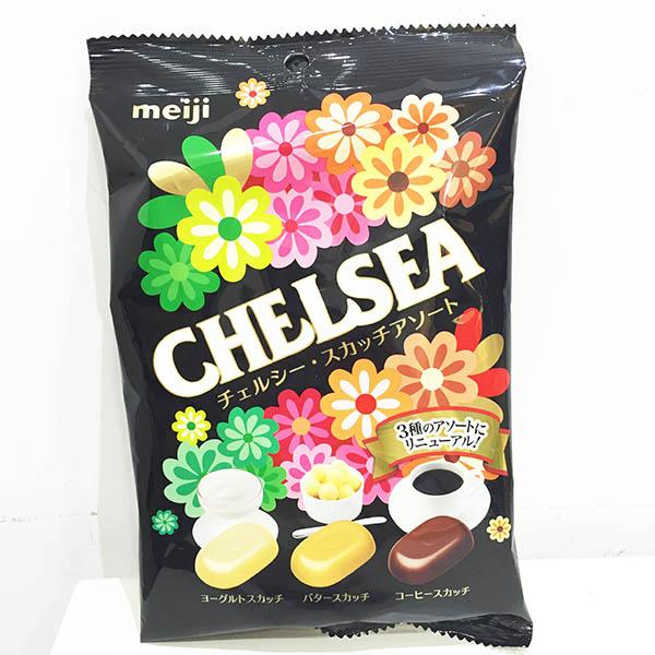 日本 明治Meiji 巧喜糖 綜合袋裝 蘇格蘭奶油 優格 咖啡 日本製造進口 * JustGirl *