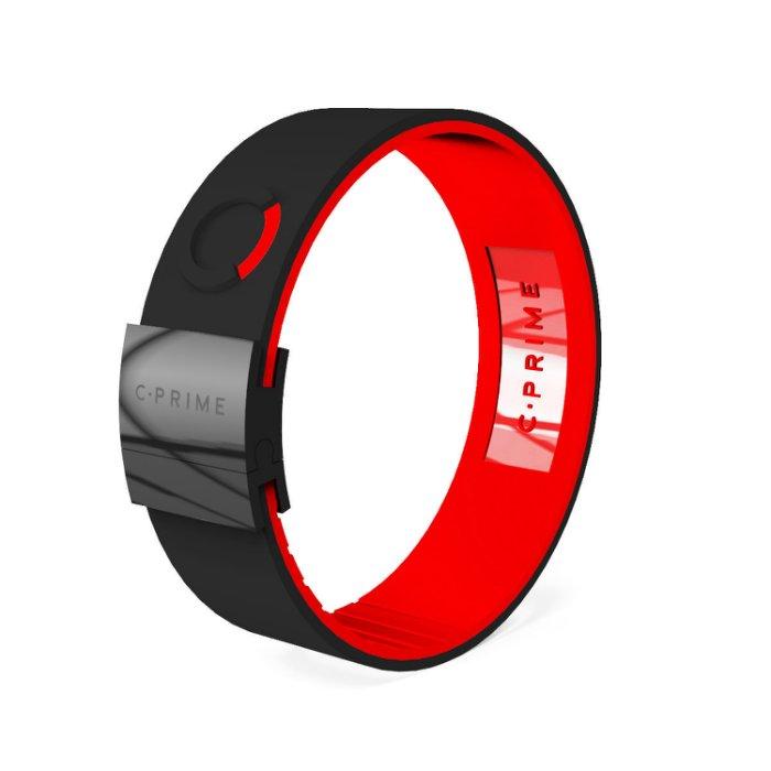 UFC MMA體驗美國科技平衡手環C.Prime手環~頂尖運動員的致勝關鍵~健身房時尚手環01黑紅