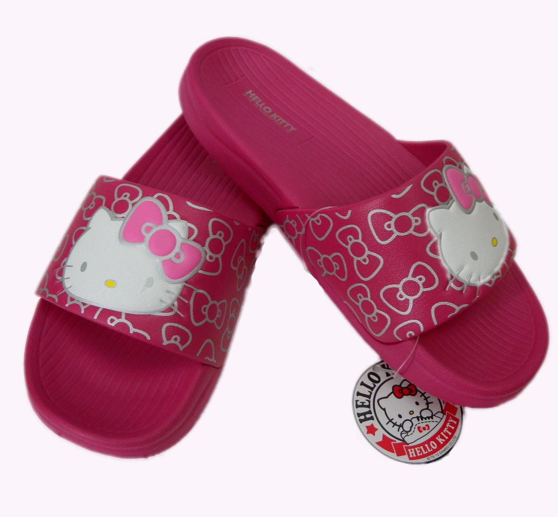 【真愛日本】厚底拖鞋915056-桃36-40 三麗鷗 Hello Kitty 凱蒂貓 拖鞋 鞋子 室內拖 室外拖