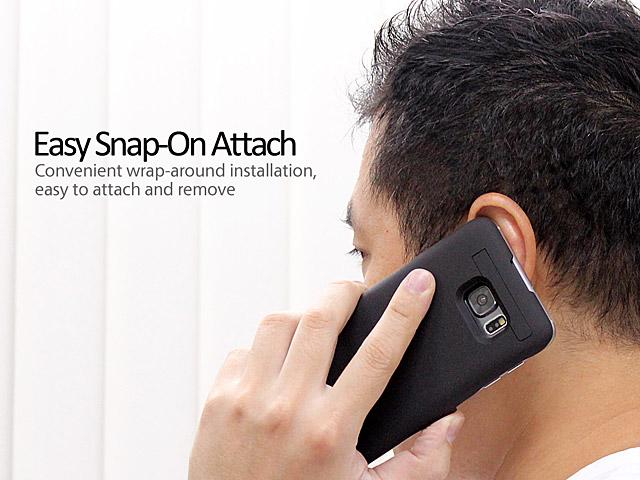 [SAMSUNG]超薄充電背蓋5200mAh[Note 5]時尚玫瑰金/情人節首選/移動電源/充電器/蘋果