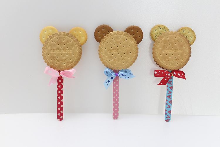 簡約熊熊棒棒糖 30g/支 - 余大叔麥芽餅