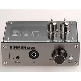 志達電子 EF2A Hi-FiMan EF-2A USB DAC PCM2702 真空管擴大機 公司貨 T1 tube 可參考 支援Line in/USB雙輸入