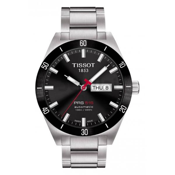 TISSOT天梭T0444302105100賽車PRS516經典技競腕錶/黑面42mm