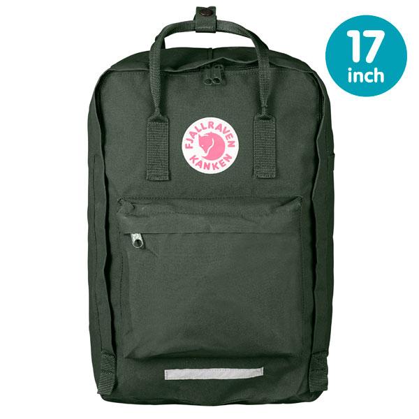 【鄉野情戶外專業】 Fjallraven |瑞典| 小狐狸 Kanken Laptop 17inch 方型書包 方型背包 電腦包 (森林綠) _27173