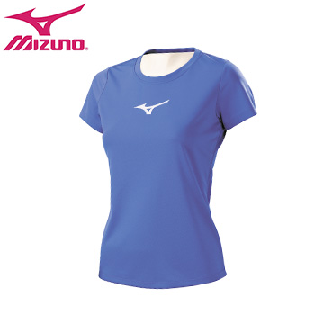 32TA670224(新藍紫)翁滋蔓代言系列女短袖T恤 【美津濃MIZUNO】