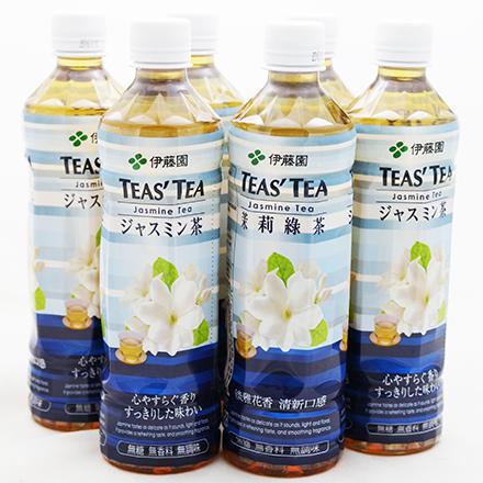 【敵富朗超巿】TEAS'TEA茉莉花茶(530ml×6入)