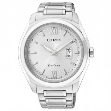 CITIZEN 藍寶石時尚光動能腕錶 AW1100-56A