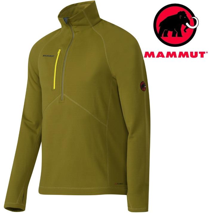 Mammut 長毛象 彈性刷毛保暖衣/保暖中層衣Aconcagua Power Stretch 1040-01280-4257蘆薈