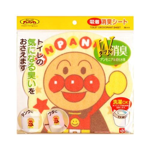 **雙子俏媽咪親子館**  [日本]  麵包超人 Anpanman 馬桶除臭貼片