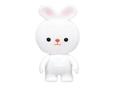 日本【ToyRoyal 樂雅】軟膠兔子