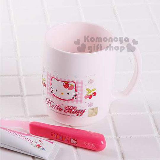 〔小禮堂韓國館〕Hello Kitty 漱口杯《小.粉紅.草莓》輕鬆美化室內空間