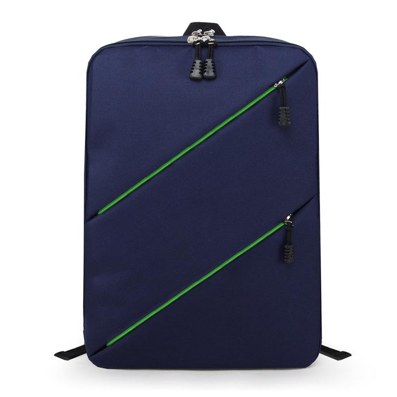 【瞎買天堂x現貨供應】雙斜拉鍊尼龍後背包 可放15吋筆電 電腦包【BGAA0216】