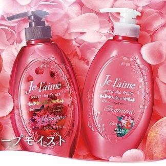 KOSE 高絲 Je l'aime系列無矽靈染後護色保濕洗髮精-紅色水果香
