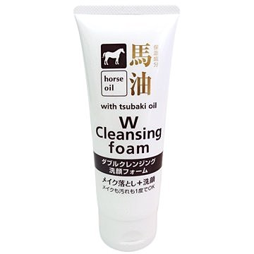 日本熊野馬油 卸妝洗面乳130g