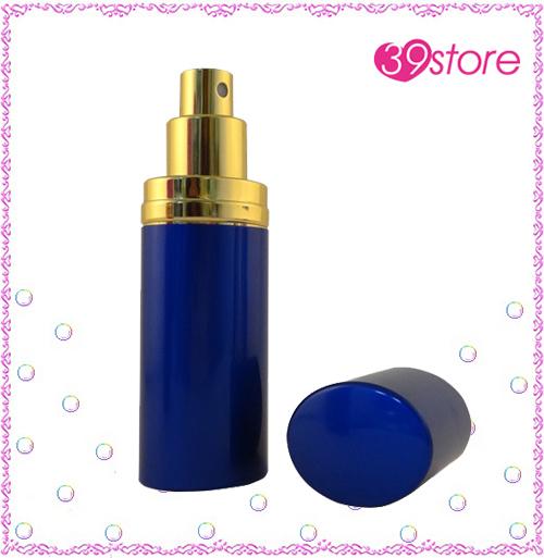 [ 39store ] 5ml 電化鋁香水分裝瓶 玻璃內瓶 可重複填充 橢圓形