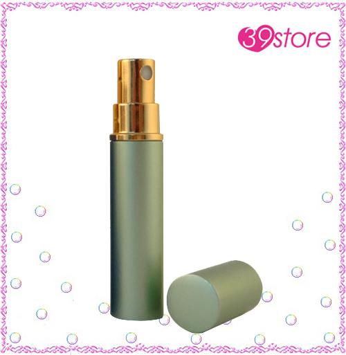 [ 39store ] 3ml 電化鋁香水分裝瓶 玻璃內瓶 可重複填充 圓形
