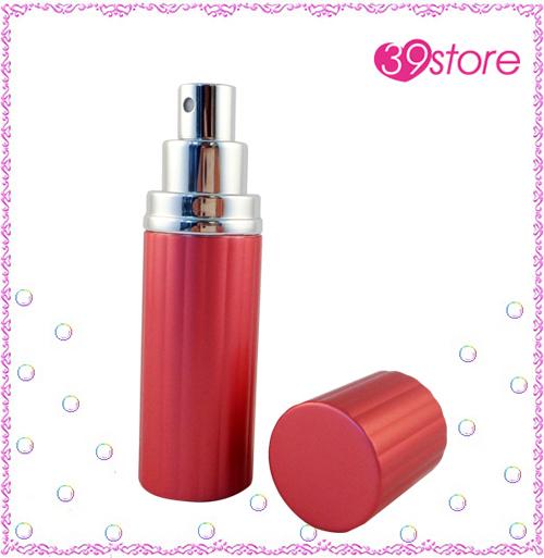 [ 39store ]  20ml 直條紋電化鋁香水分裝瓶 玻璃內瓶 可重複填充 圓形