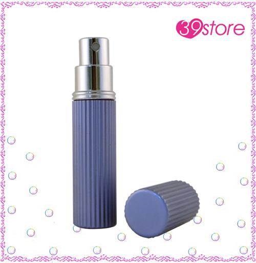 [ 39store ]  5ml 電化鋁香水分裝瓶 玻璃內瓶 可重複填充 圓形