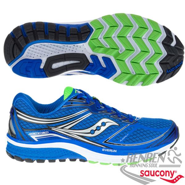 SAUCONY  POWERGRID GUIDE 9 男慢跑鞋 (藍)