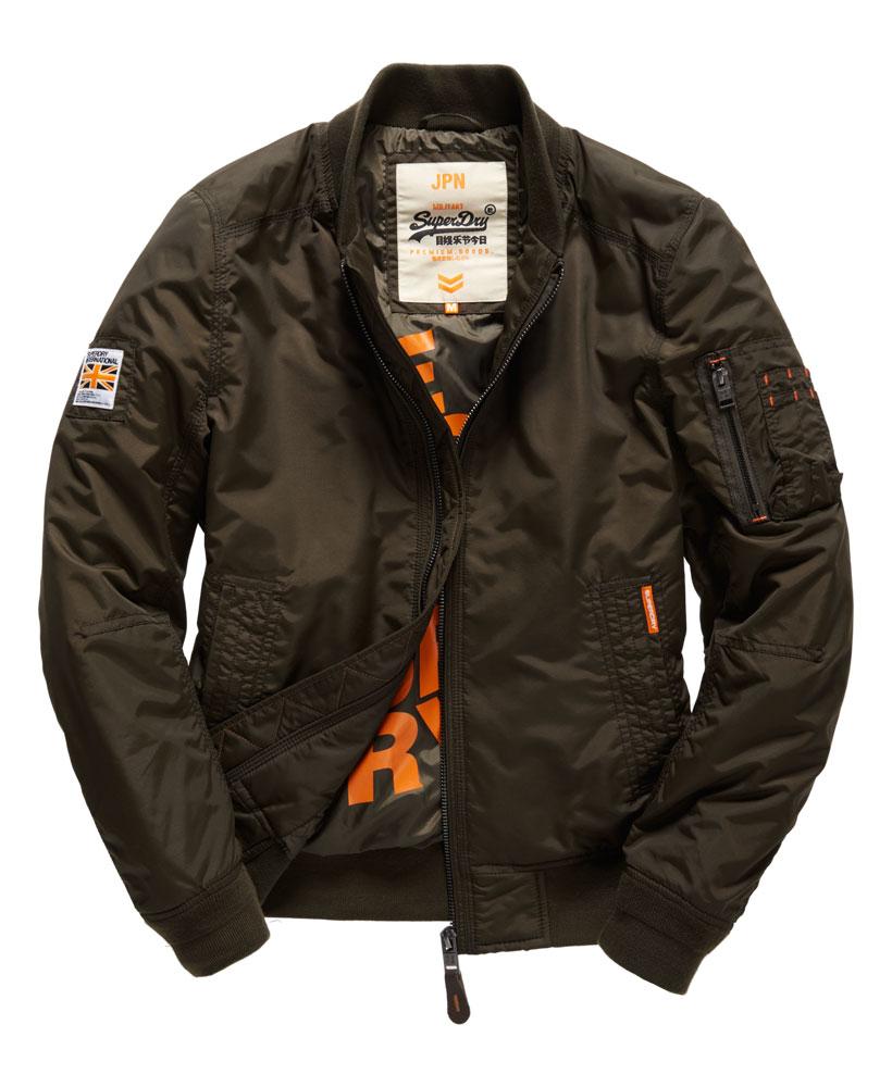 [男款]英國名品代購 極度乾燥 Superdry RSD Lite Pilot MA-1男士防水防風飛行外套夾克風衣 深卡其