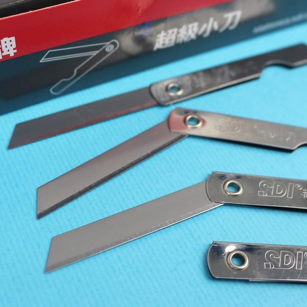SDI手牌 彩色小刀 0104 塑膠柄小刀/一大盒12小盒入(一小盒12支)共144支入{定7}~0104B