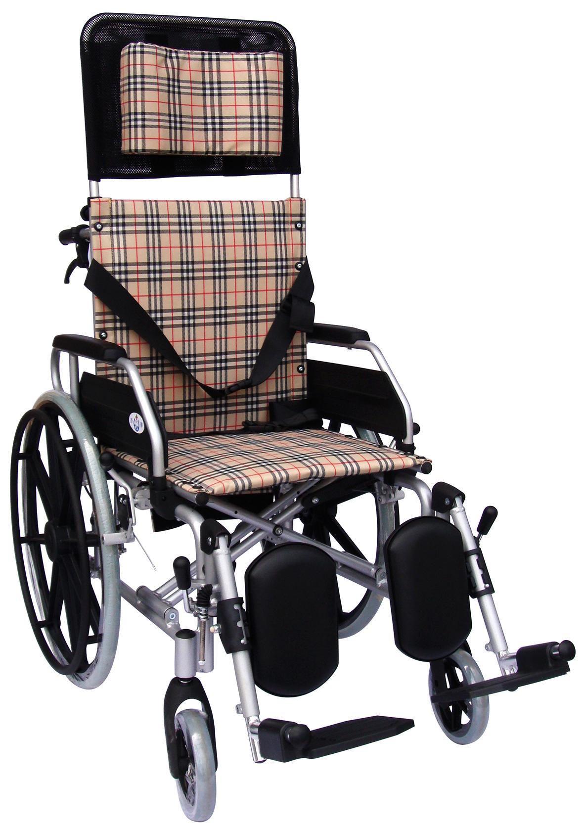 【醫康生活家】杏華 特製鋁輪椅-躺式 CCB5