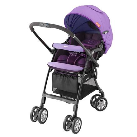 【悅兒樂婦幼用品舘】【贈披風】Aprica 愛普力卡 嬰幼兒手推車 LUXUNA CTS 前瞻系列-薰衣紫