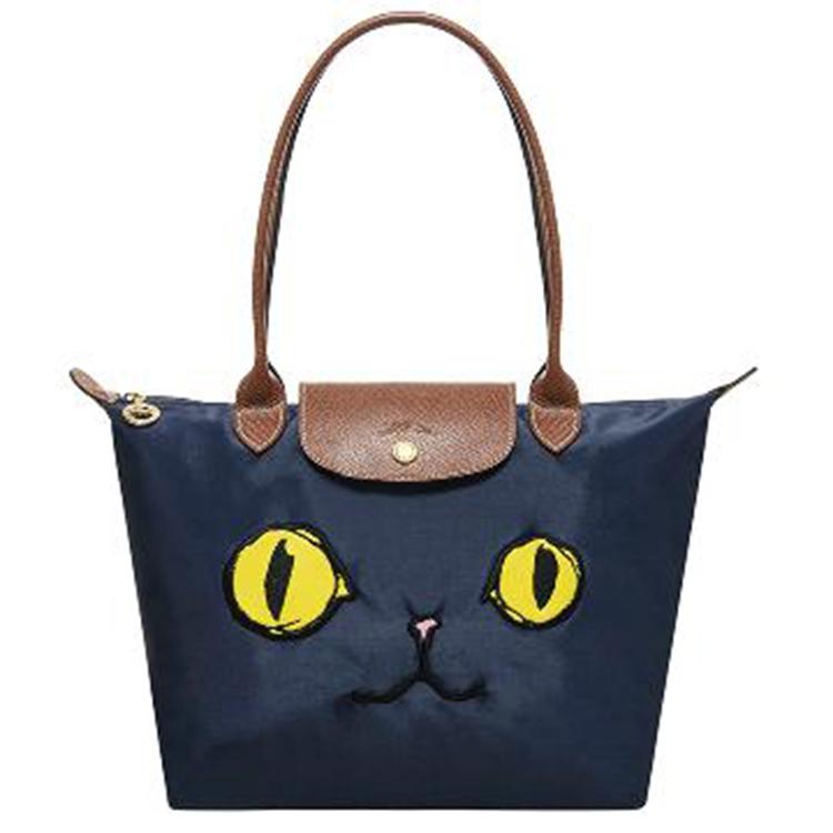 【12/11 12:00限量開搶】LONGCHAMP 2605 576 556新款包包貓咪款長柄小號折疊包水餃包