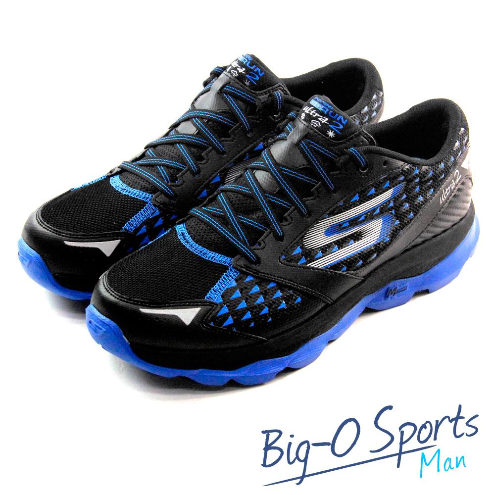 SKECHERS GO Run Ultra 2  休閒健走鞋  男  53855BKBL