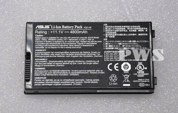 【天天3C】ASUS A32-A8 F8 F8J A8S Z99 A8J A8H A8M A8E N81 N80 N80V 原廠電池